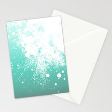 Splattered Ombre Stationery Cards