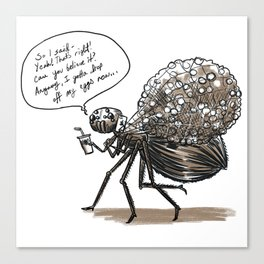 Spider-Mom Canvas Print