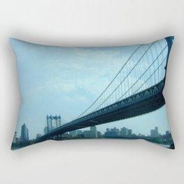 Bridge The Gap Rectangular Pillow