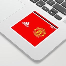 Pogba Edititon - Manchester United Home 2017/18 Sticker