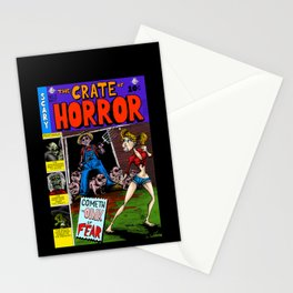 The Crate of Horror Stationery Cards