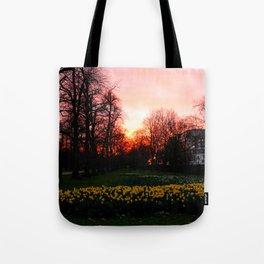 Spring magic hour Tote Bag