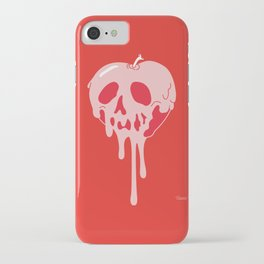 Poisoned apple iPhone Case