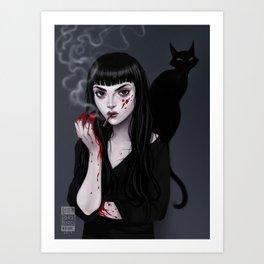 Mia Corvere Art Print