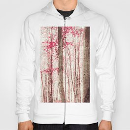 Pink and Brown Fantasy Forest Hoody