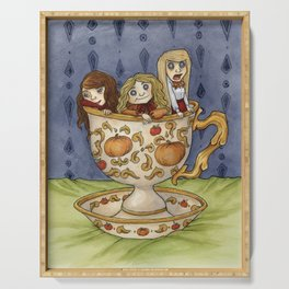 Teacup Girls Serving Tray