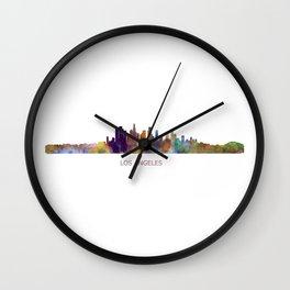 Los angelas californi Wall Clock