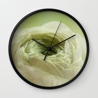 belle Wall Clocks featuring belle by lucyliu