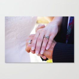 Hands. Canvas Print