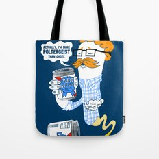 Hipster Ghost Tote Bag