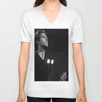 luke hemmings V-neck T-shirts featuring L HEMMINGS CLEVELAND by Halle