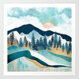 Summer Forest Art Print