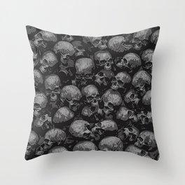 Totally Gothic Throw Pillow