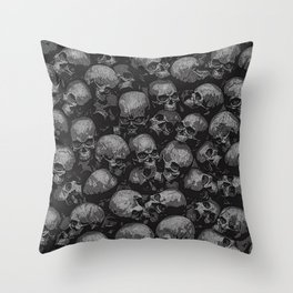 Totally Gothic Throw Pillow