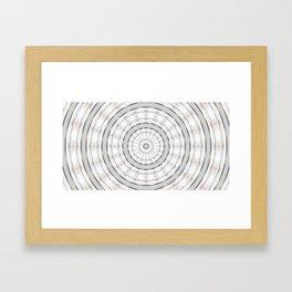 Target Center 2 Framed Art Print