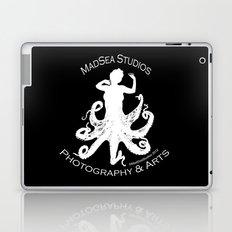 MadSea Nymph, white on black Laptop & iPad Skin