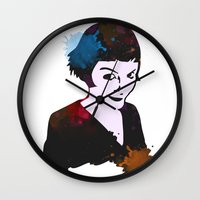 amelie Wall Clocks featuring Amelie by BIG Colours