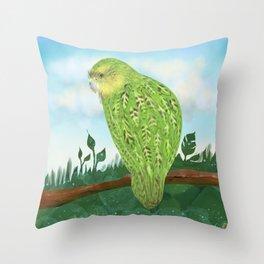 The Kakapo (Owl Parrot of New Zealand) Throw Pillow