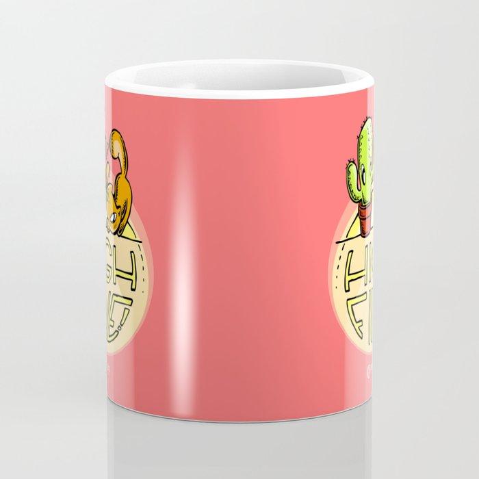 Scribbles & Prickles: High five Coffee Mug