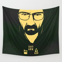 breaking Wall Tapestries featuring Breaking Bad by famenxt
