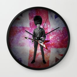 Rick was all up for army surplus for the bands 'look' but in this he just felt he looked like a dick Wall Clock