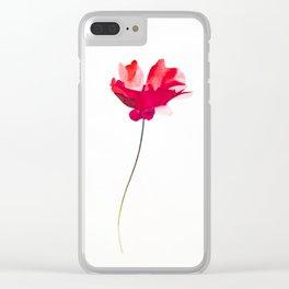 Beautiful Fire Clear iPhone Case