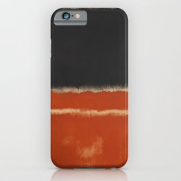 Mark Rothko, Untitled (Red) iPhone Case