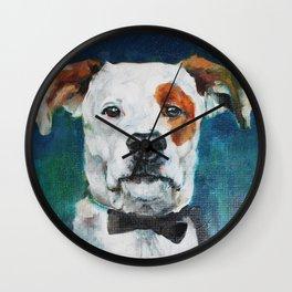 Festive Pups Wall Clock