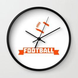 I Love My Wife & Cincinnati Football Wall Clock