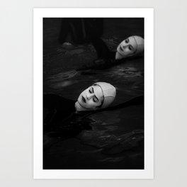 Water Study Art Print