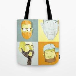 Beard by Beard Tote Bag