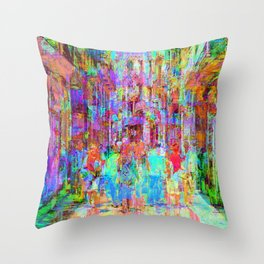 Equations involving a consequence of sequences. 14 Throw Pillow