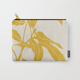 Golden Yellow Leaves #art print#society6 Carry-All Pouch