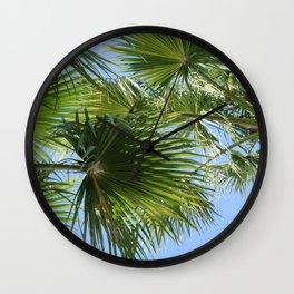 Vegas Palms I Wall Clock
