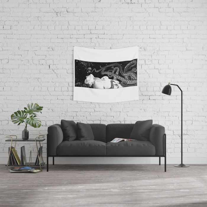 asc 789 - L'amant sans peine aucune (Talented lover) Wall Tapestry