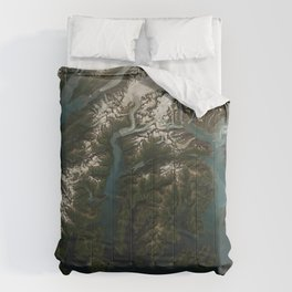Columbia Bay, Prince William Sound, Alaska Comforters