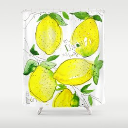 El Limon Shower Curtain