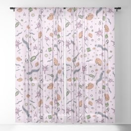 Pretty Science Sheer Curtain