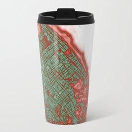 Sanlucar de Barrameda city map pop Travel Mug