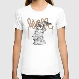 Street art _Love T-shirt