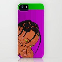 008000 Travis iPhone Case