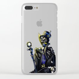 His Majesty Clear iPhone Case