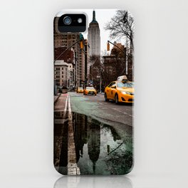 23rd Street Puddles iPhone Case