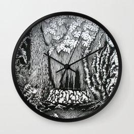 """pristina silva"" Wall Clock"