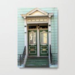 Main Entrance, Not Built For Comfort... Metal Print