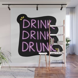Drink Up Baby Wall Mural