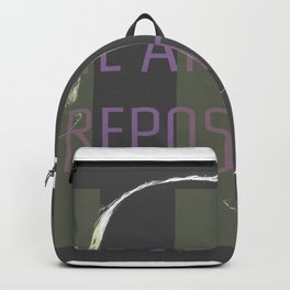 The Art of the Preposterous Lie Backpack