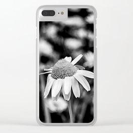 Singularity II - Black & White Clear iPhone Case