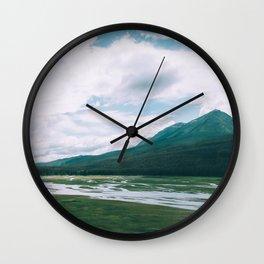 Medicine Lake, Jasper National Park Wall Clock