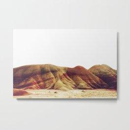 Oregon Painted Hills Metal Print